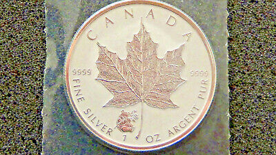 2016 Canadian $5 Maple Leaf Panda Privy 1 oz .9999 Silver Coin - Reverse Proof