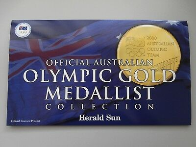 Sydney 2000 Official Australian Olympic Gold Medallist Collection of Medallions