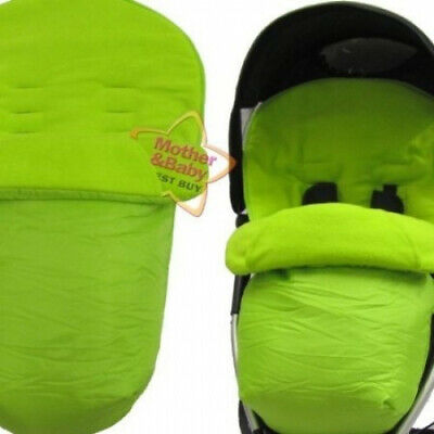 ZETA Lite Footmuff - LIME. Baby Travel. Delivery is Free