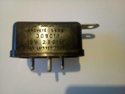 Centrale Clignotant  Relay Turn Signal Scintex Sanor Ref 30901 12 Volts 21 Watts