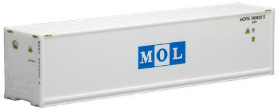 HO Scale Shipping container- 491667- 40ft High Cube Refrigerated Container - MOL