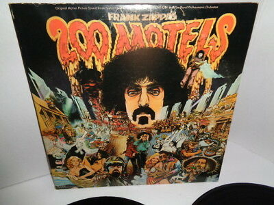 Frank Zappa And The Mothers, 200 Motels, Original Movie Soundtrack Double LP. Se