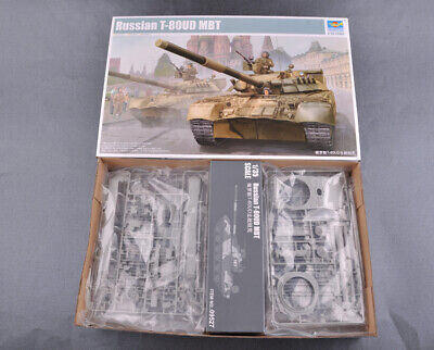d6155ff320bf Trumpeter 09527 1 35 Russian T-80UD MBT Battle Tank Plastic Assembly Model  Kit