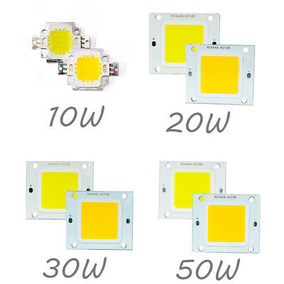 LED Chip Strip Panel Cold/Warm White 10W 20W 30W 50W High Power Bulb DC 12V Lamp