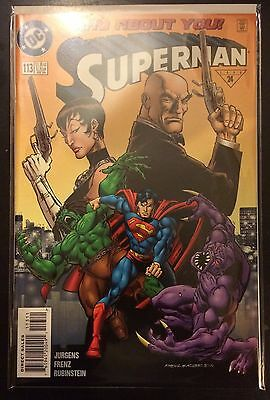 Superman (Vol 2) #113 VF NM- 1st Print DC Comics