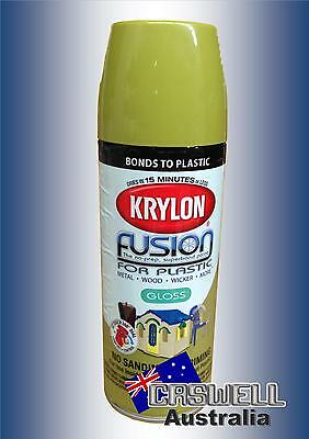 Krylon Fusion Plastic Paint 340gm - Ivy Leaf Gloss - AUS Seller