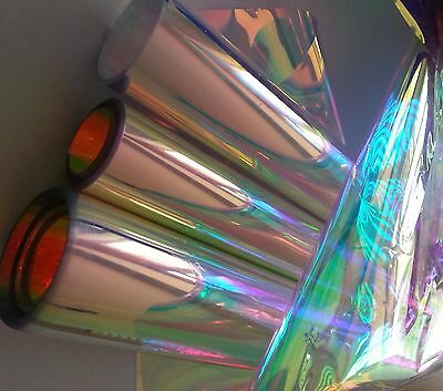 Craft Acetate Iridescent. 22cm wide x 25m