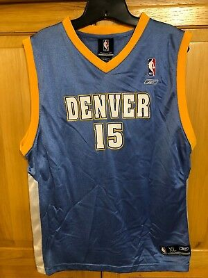 DENVER NUGGETS  15 Reebok NBA CARMELO ANTHONY Jersey YOUTH Size XL (18-20 81781313d