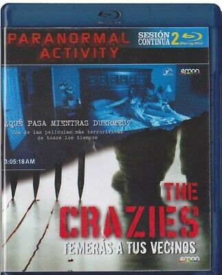 Sesion Continua: Paranormal Activity / The Crazies