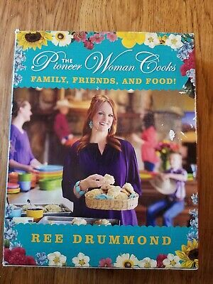 The Pioneer Woman Cooks: Family, Friends And Food Cookbook Set.