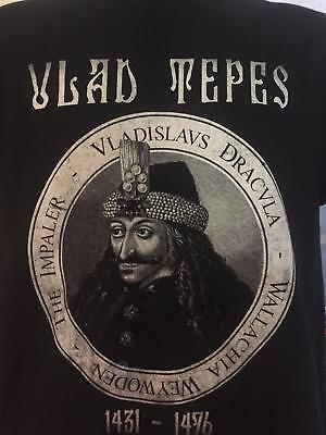 Vlad Tepes T-shirt double sided the original dracula