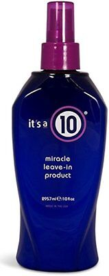 Its a 10 by It's a 10 Miracle Leave in Product 10 OZ BRAND NEW FRESH STOCK
