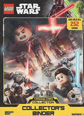 Lego Star Wars Series 1 Complete 252 Card Set & ALL 20 LTD ALL 272 cards UK