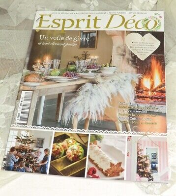 Magazin L'Esprit Déco N17 2018 Wohnen France Country Brocante D.I.Y. Shabby Chic