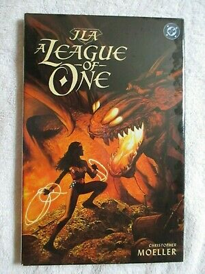 Jla A League Of One (2000-Dc) Hardcover / Hc     *1St Print*    *Still Sealed*