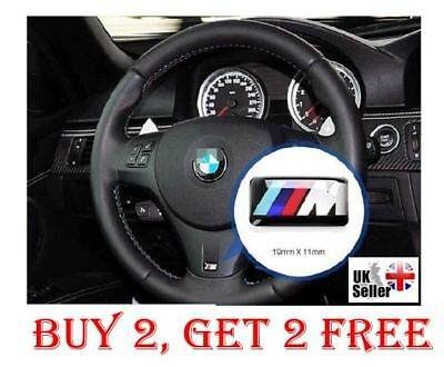 BMW M Power Performance Sport Logo Emblem Sticker Decal Badge X5 M2 M3 M4 M5 M6