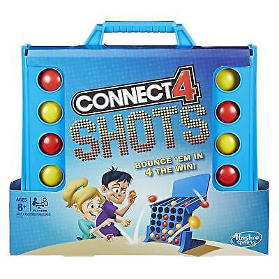 Hasbro Gaming CONNECT 4 SHOTS Bounce 'em in for the win! *BRAND NEW*