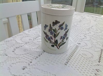 portmeirion botanic garden Cica 1818 1972 Small Ceramic lidded Jar
