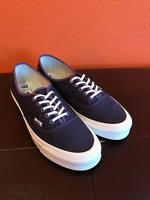907a0f9fe36 NEW Vans Vault x Pilgrim Surf Supply OG Authentic Purple   Eggplant Size 12