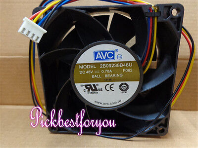 1pc AVC 2B09238B48U cooling fan 90*90*38mm 48V 0.70A 4pin #M4376 QL