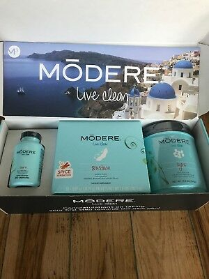 Modere M3 Body Weight Loss System Burn Sustain Sync Spice Sensation Free Ship