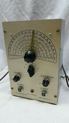 RCA Institues  Signal Generator 170kc-50Mc  New York RF AF OUTPUT