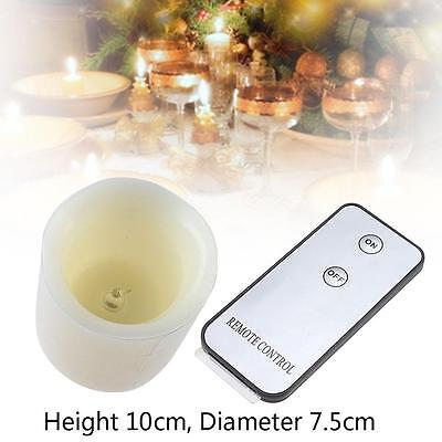 Flameless Flickering Battery Operated LJС Tea Light Candle Remote Control New JS