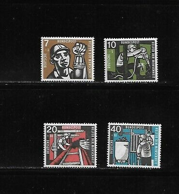 Germany MNH 1957 Semi postal stamps complete set B356-B359