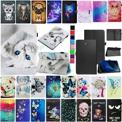AU Leather Cover Case For Samsung Galaxy TabA 8.0-Inch SM-T350 T355 T355Y Tablet