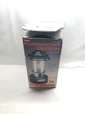 COLEMAN NIGHTSIGHT TWIN Tube Fluorescent Lantern Model 5355