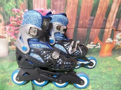 Rollerskates Kids Youth Rd Roller Derby Turbo Rtx Size 12-13-1