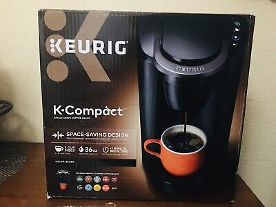 New Open Box Keurig K Compact Single Serve Coffee Maker Black See