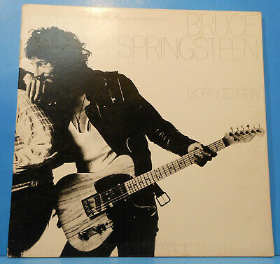 Bruce Springsteen Born To Run Vinyl Lp 1975 Re '80 Plays Great! Vg/vg++!!c