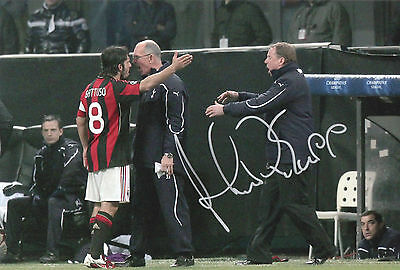 HARRY REDKNAPP In Person Signed 12x8 Photo PROOF COA