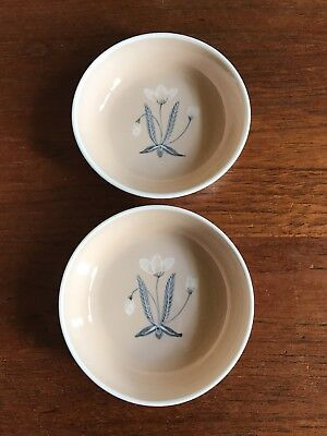 Two Vintage Susie Cooper Pin or Small Serving Dishes Pin/Butter/Trinket Dish