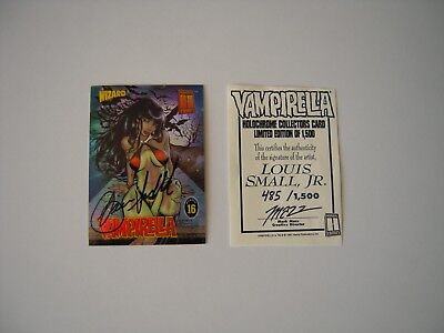 Vampirella    Serie Wizard   1997 N 16 Signee  Limited Edition  Louis Small Jr