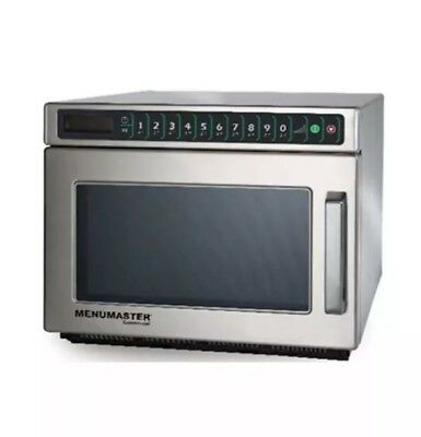 Commercial,Restaurant Cafe Menumaster DEC11E2 Microwave Oven 1100w New