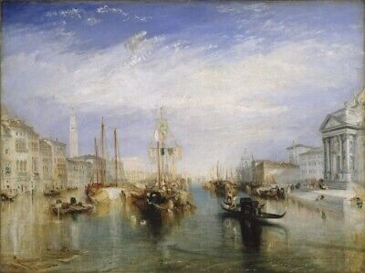The Grand Canal Venice Poster Print by J.M.W. Turner (24 x 36)