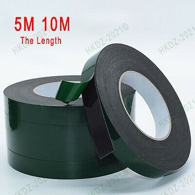 Black Double Sided Foam Self Adhesive Tape For Automotive Car Trim 0.5~3mm Thick