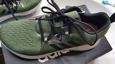 3a2a01a636e5f Adidas Edgebounce W  BB7563  Women Running shoes green with black and pink