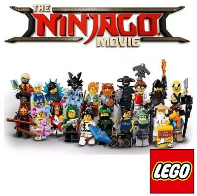 Pick your own! ⛩️ LEGO Ninjago Movie Minifigure 👹 71019