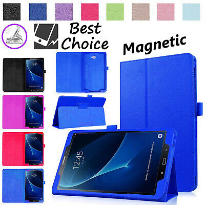 Magnetic Leather Folio Case Smart Cover For Samsung Galaxy Tab A6 10.1 T580/T585