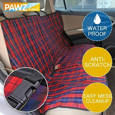 PAWZ® Pet Dog Car Seat Cover Durable Dog Cat Car Hammock Oxford Collapsible
