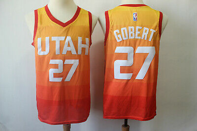 new products 93155 eefbd UTAH JAZZ CITY Edition Swingman Jersey - Rudy Gobert - L ...