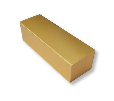 50 Small Gold Macaroon  Boxes, Cakes, Biscuits Etc
