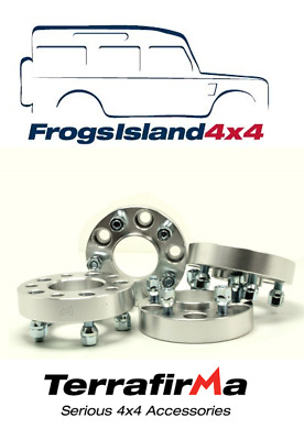 TF3003 TERRAFIRMA SET OF 4 WHEEL SPACERS 30mm FOR JEEP WRANGLER YJ / TJ