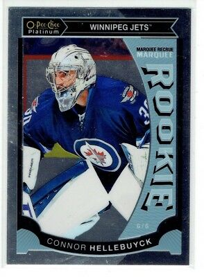 2015-16 O-Pee-Chee OPC Platinum Marquee Rookie Connor Hellebuyck RC