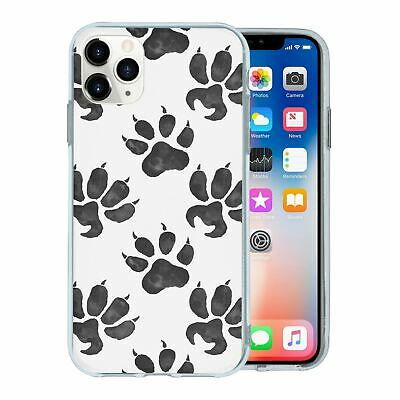 Silicone Phone Case Back Cover Animal Print Pattern - S8776