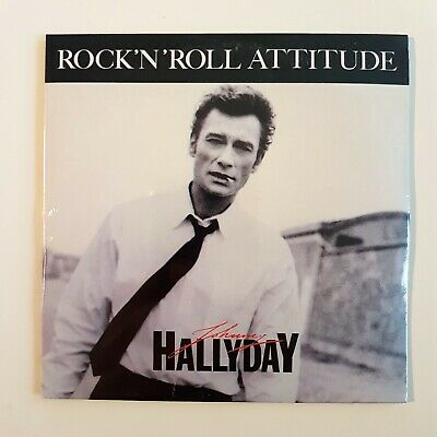 JOHNNY HALLYDAY ♦ CD NEUF SOUS BLISTER ♦ ROCK'N'ROLL ATTITUDE (michel berger)