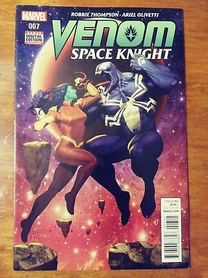 Venom Space Knight #7 First Print Marvel Comics (2016) Spider-Man